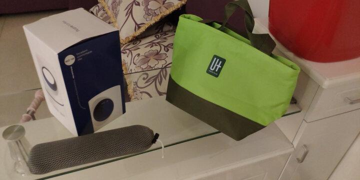 拾画 304不锈钢学生成人筷子勺子叉子套装便携式餐具盒装三件套韩版(红色)SK-6217 晒单图