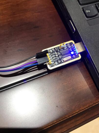 TaoTimeClub 土豪金CH340G RS232升USB转TTL模块转串口中九升级小板 晒单图