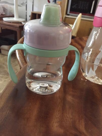 膳魔师THERMOS 儿童夏季水杯吸管杯宝宝学饮杯婴儿训练杯小孩防漏水杯 BP5353 OR 晒单图