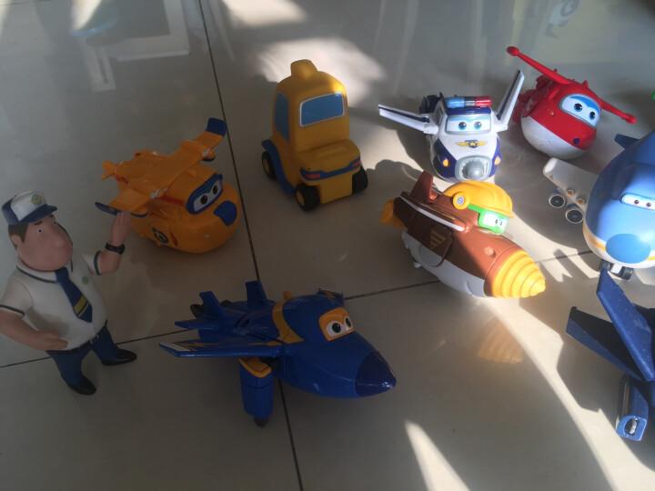 奥迪双钻(AULDEY)超级飞侠益智迷你变形机器人欢乐装4只装 710091 男孩女孩玩具生日礼物 晒单图