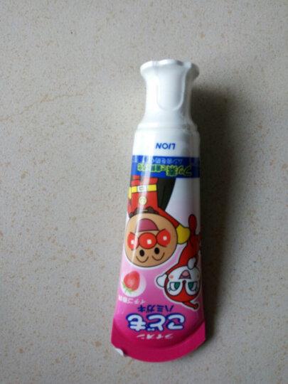 狮王(Lion)面包超人儿童牙刷(1.5-5岁 )小巧刷头 颜色随机 晒单图