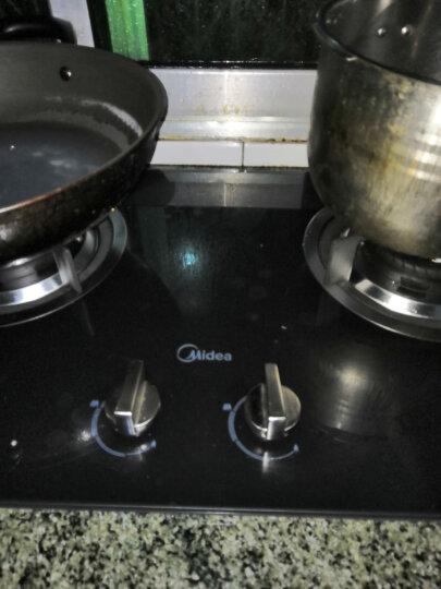 美的(Midea)大火力抛物线火 嵌入式台式燃气灶具 天然气灶 双灶 晒单图