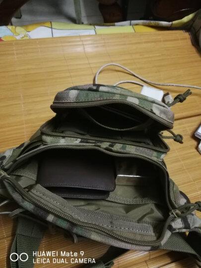 马盖先 轻骑兵Q3腰包 户外多功能休闲运动骑行腰包 军迷迷彩军风个性收纳手机战术腰包 魔蝎迷彩(MultiCAM) 晒单图