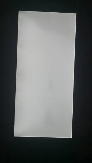 美的(Midea)LED平板灯集成吊顶面板灯具厨房厨卫灯嵌入300*600铝扣20w 晒单图