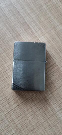 之宝(Zippo)打火机 古典沙子 拉丝镀铬230.25 煤油防风火机 晒单图