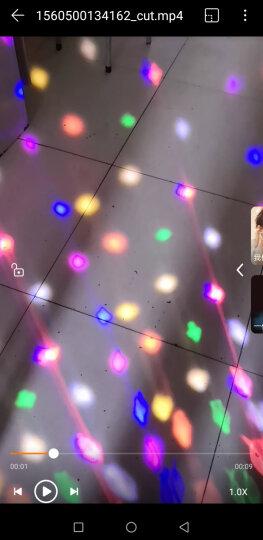 灯夫人 舞台灯光ktv灯光声控酒吧灯光彩灯光束灯蹦迪灯 蝴蝶激光灯 LED蝴蝶激光灯【白色外壳】 晒单图