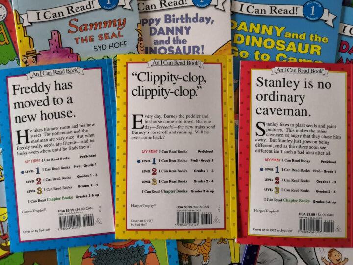 I can read 英文原版童书 汪培珽英文书单第一阶段 12册+2CD套装  儿童绘本 幼儿启蒙书 进口原版绘本 晒单图