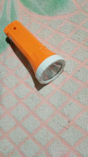 雅格(yage) 雅格LED手电筒 充电式家用户外露营便携家居照明袖珍便携 YG-3704兰 带验钞灯 晒单图