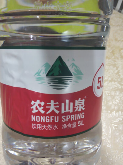 农夫山泉 饮用水 饮用天然水5L*4桶 整箱装 桶装水 晒单图