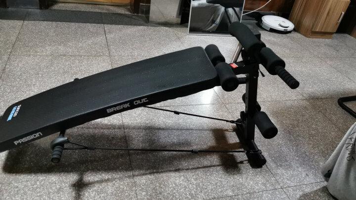 双超健身器材家用仰卧起坐板多功能辅助器仰卧板哑铃凳懒人自动运动器材腹肌板男女收腹器卧推 晒单图