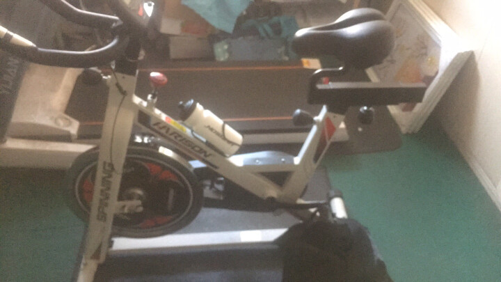 美国HARISON 智能动感单车 家用健身车静音减肥室内自行车 汉臣健身器材 B1850APP+ 晒单图