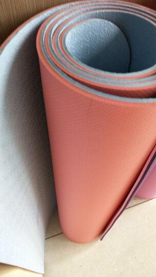 哈他专业瑜伽垫 加宽66cm环保TPE瑜珈垫男女 双面防滑运动健身垫 天青蓝 晒单图