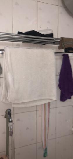 尔沫(EM) 太空铝浴室置物架三角架挂件免打孔卫生间五金毛巾架壁挂 Y601-优雅银六件套 晒单图