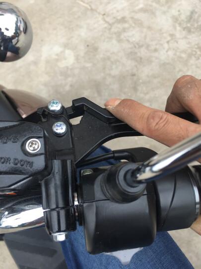 正步(ZB) 电动三轮车成人电瓶车电摩男女士电动车摩托车 老年人接送孩子代步车 大龟王72v [颜色留言] 晒单图