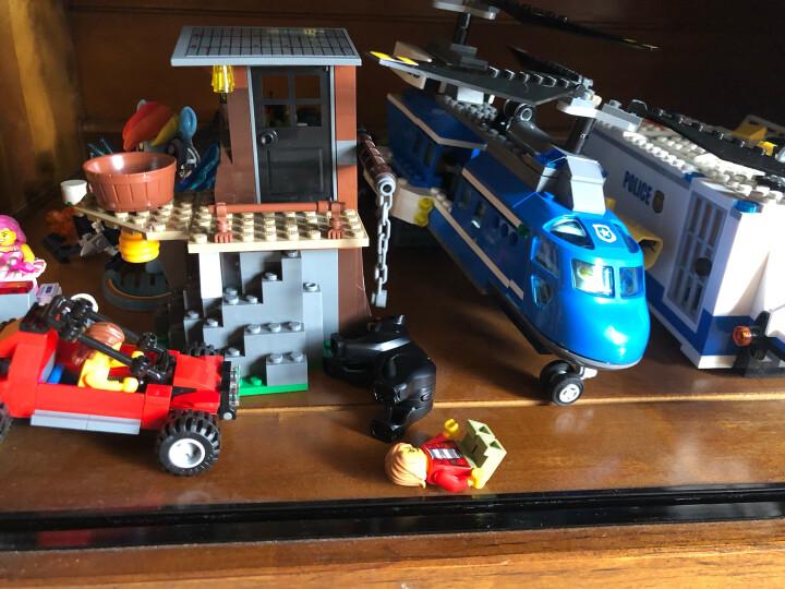 乐高(LEGO)积木 城市组系列City山地特警空中追捕5-12岁 60173 儿童玩具车 男孩女孩生日礼物 晒单图