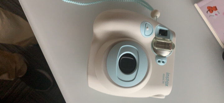 富士INSTAX 立拍立得 一次成像相机 MINI7c相机  樱粉 晒单图