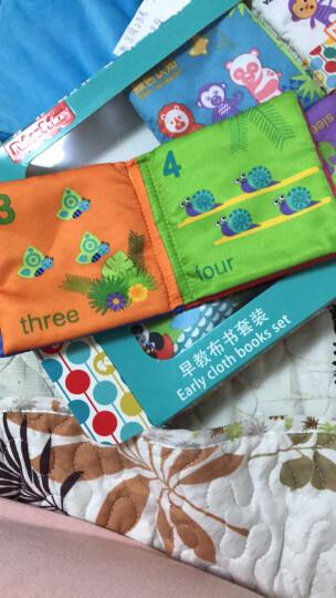 费雪 婴儿布书早教书宝宝婴儿玩具0-1岁益智撕不烂书本礼物 六套组合精装+认知布球(足球12面) 晒单图
