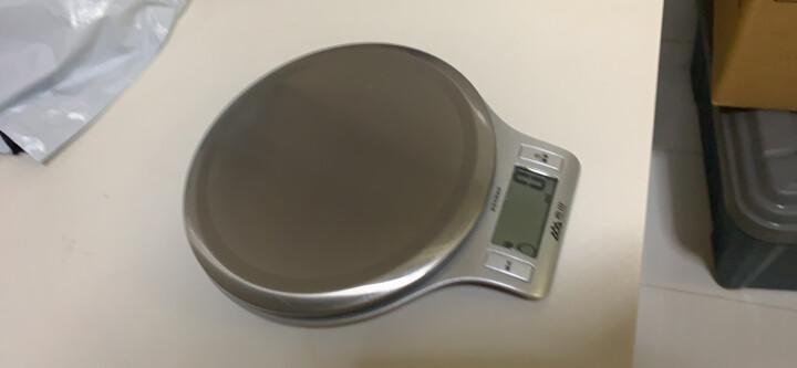 香山EK813-5kg 精准电子厨房秤烘焙称(银色) 晒单图