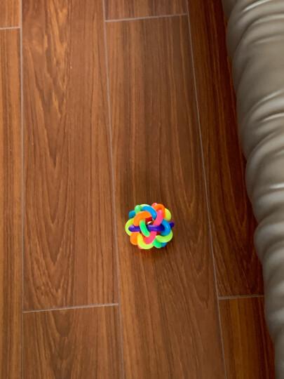【1件9折】Max Dog 宠物玩具 狗狗玩具 铃铛七彩玩具球 好玩的麻花球 小号 晒单图