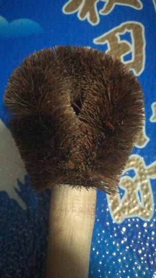 洁成椰壳丝锅刷 木柄椰棕刷 厨房清洁刷子 晒单图