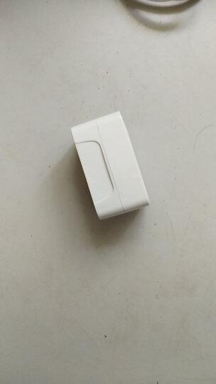 出国外旅行出差 美国英国欧州德国 日本 中国香港 标充电源转换器转换插头全球通用旅游多功能插座 白色+USB 1A 晒单图