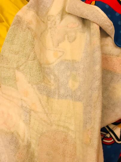 迪士尼(Disney)毛巾家纺 维尼熊甜蜜纱布浴巾 A类纯棉婴儿童正方形抱巾 Y黄色 306g 98*98cm 晒单图