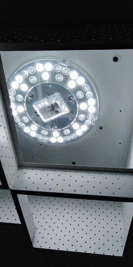 佛山照明(FSL)LED吸顶灯板灯盘替代光源改造板2D管环形灯管改装节能灯套件白光5700K 25W 晒单图