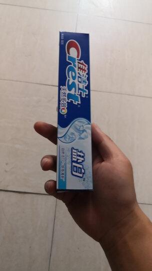 佳洁士(Crest) 盐白牙膏(清凉薄荷香型)90g(天然盐 洁白牙齿 防蛀)(新旧包装随机发货) 晒单图