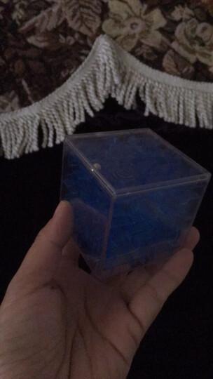 3D魔方迷宫玩具重力迷宫走珠球男女孩早教益智力儿童礼物 透明蓝(迷你版) 晒单图