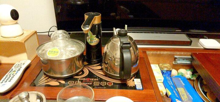 金灶(KAMJOVE) 电茶炉 全智能自动抽水电热水壶 茶具全自动 整套茶具 电热茶炉 K6 晒单图