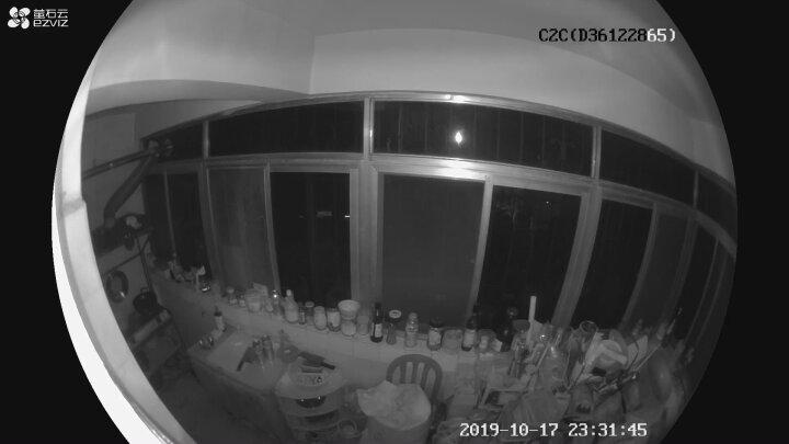 海康威视萤石C2C 1080P摄像头  无线智能网络摄像头 wifi远程监控摄像头 红外高清夜视 海康威视智能安防品牌 晒单图