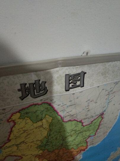 2019新 中国地图挂图 1.1*0.75米 学生家用 中国地图出版社 晒单图
