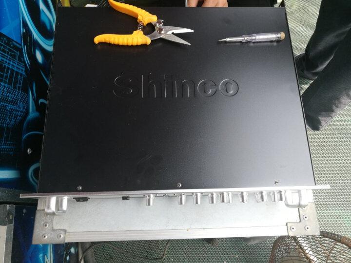 新科(Shinco)AV-112 数字hifi功放机 专业定压定阻功放器蓝牙广播功放650W(银色) 晒单图