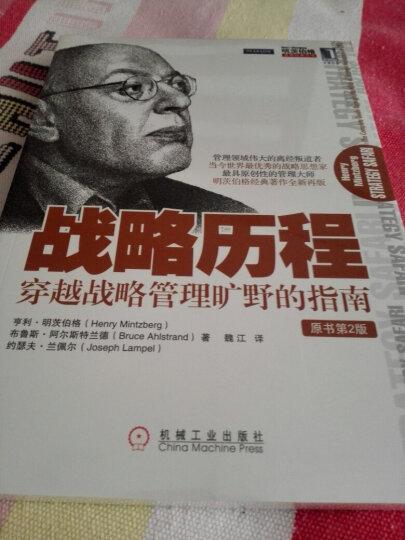 明茨伯格管理经典丛书·战略历程:穿越战略管理旷野的指南(原书第2版) 晒单图