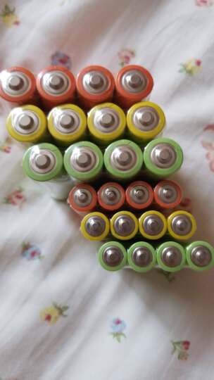 ZMI 紫米 紫7镍氢7号700毫安 环保电池 充电电池 4节 晒单图