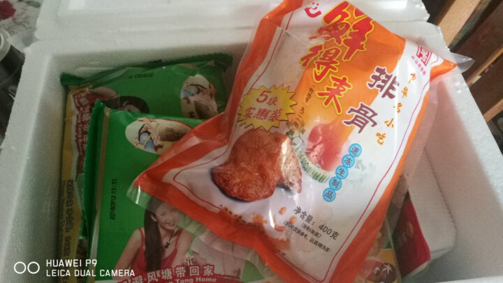 鲜得来排骨 大排 猪排 调理速冻半成品菜 5片装 400g 晒单图