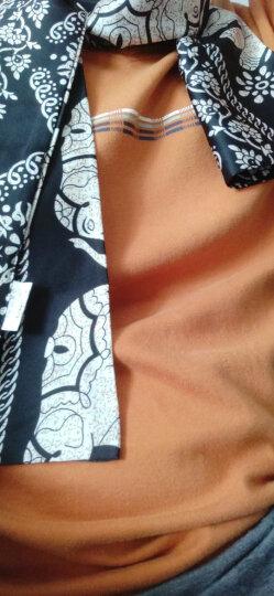 MAXVIVI 丝巾女 韩版装饰小领巾印花绸缎面围巾WSJ813111 大象款 晒单图
