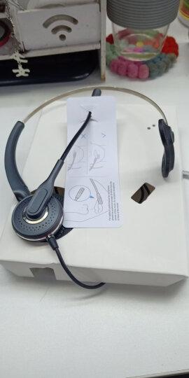 艾特欧A310呼叫中心话务耳机 客服耳麦 座机 电脑话务员耳机 A310+调音3.5MM双插头PC线.接电脑使用 晒单图