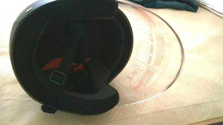 Ontrack D017 电动车头盔  男款 秋冬款 半盔 保暖挡风镜片 哈雷电瓶脚踏车机车骑行帽 晒单图