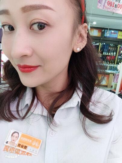 岐昌堂 珍珠耳钉纯银S925简约时尚款女士耳钉 珍珠耳钉 晒单图