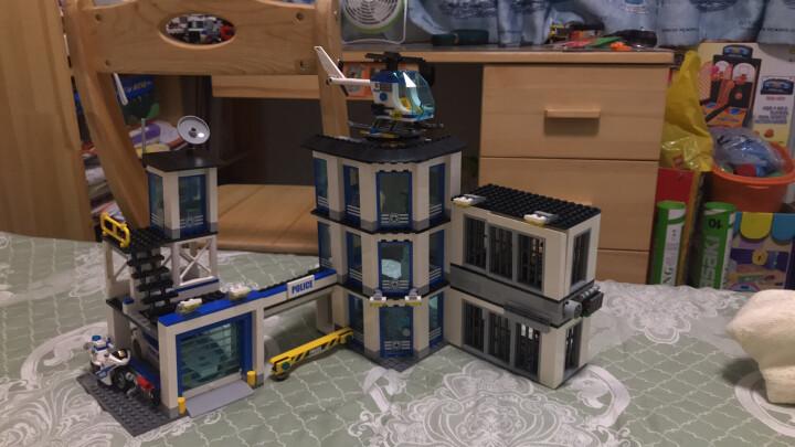 乐高(LEGO)积木 城市组系列City警察总局6-12岁 60141 儿童玩具车 男孩女孩生日礼物 晒单图