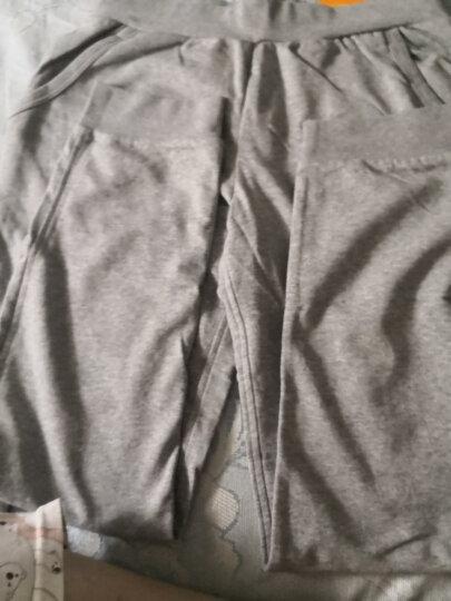 安踏 ANTA官方旗舰 女服 96437754-1棉质针织运动卫裤女子收口束脚长裤 BC17灰花灰 2XL 晒单图