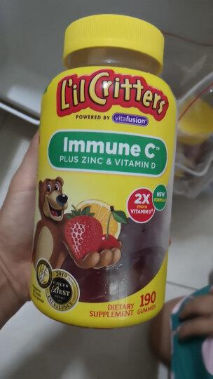 小熊糖 L'ilCritters丽贵 儿童营养纤维 益生菌之源 助消化 软糖 90粒装 美国进口 2岁及以上 晒单图
