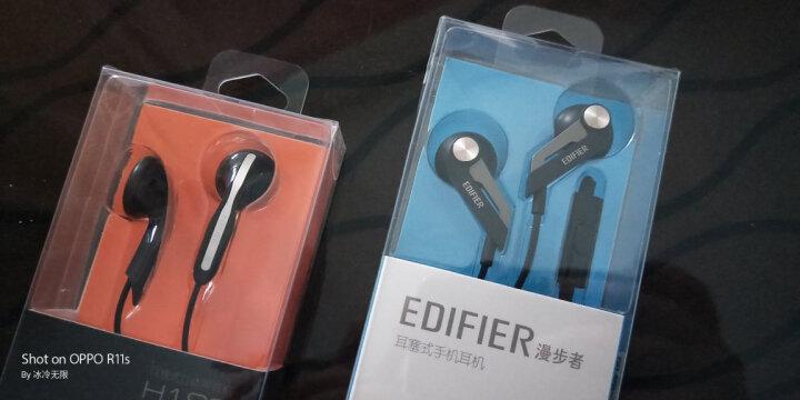 漫步者(EDIFIER) H180 手机耳机 立体声耳塞 黑色 晒单图