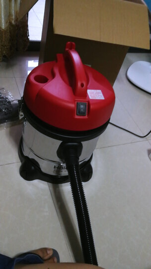 海尔(Haier)吸尘器 HC-T3143R 干湿吹三用 桶式 晒单图