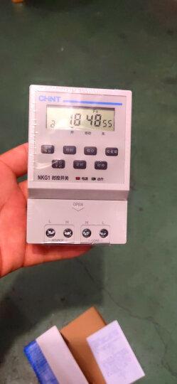 正泰 时控开关定时器路灯定时开关广告牌灯箱时间控制器微电脑时空时间开关 晒单图