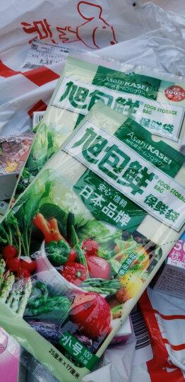 旭包鲜 日本品牌一次性PE抽取式保鲜袋大号35cm*25cm*50只装耐高温塑料袋 晒单图