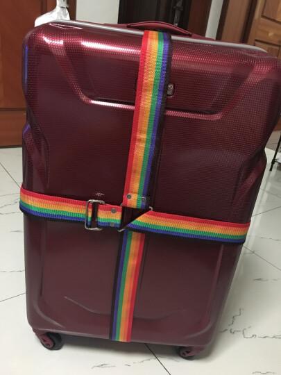 锐赛特(RESET)RST-031十字打包带 拉杆箱行李捆绑带旅行箱托运捆扎带打包带 4米长 七彩 晒单图
