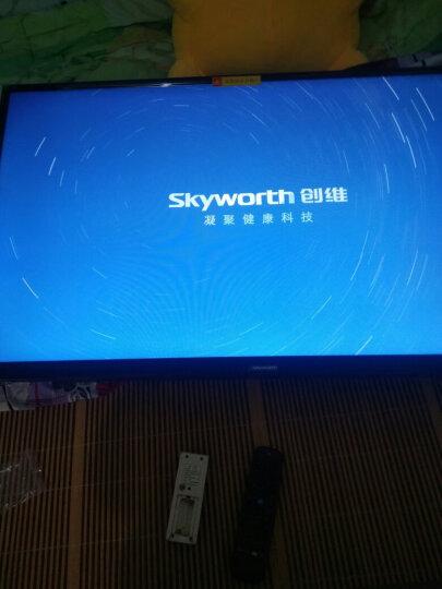 创维(SKYWORTH)42X6 42英寸10核窄边高清 智能语音 网络WIFI 卧室液晶平板电视机 晒单图