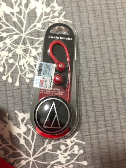 铁三角 COR150 入耳式耳挂耳机 运动耳机 音乐耳机 便携入耳 轻巧机身 红色 晒单图